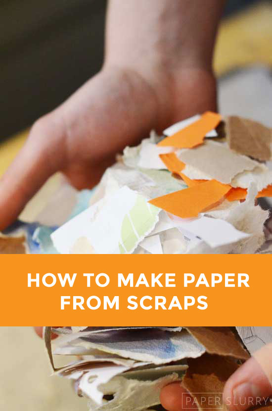 Here S How To Make Handmade Paper From Recycled Materials
