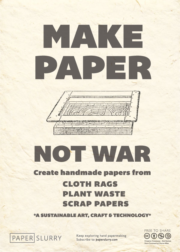 Make Paper, Not War