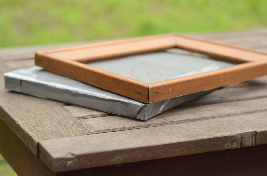 Make a Mould and Deckle for Handmade Paper – Cheap, Quick & Dirty