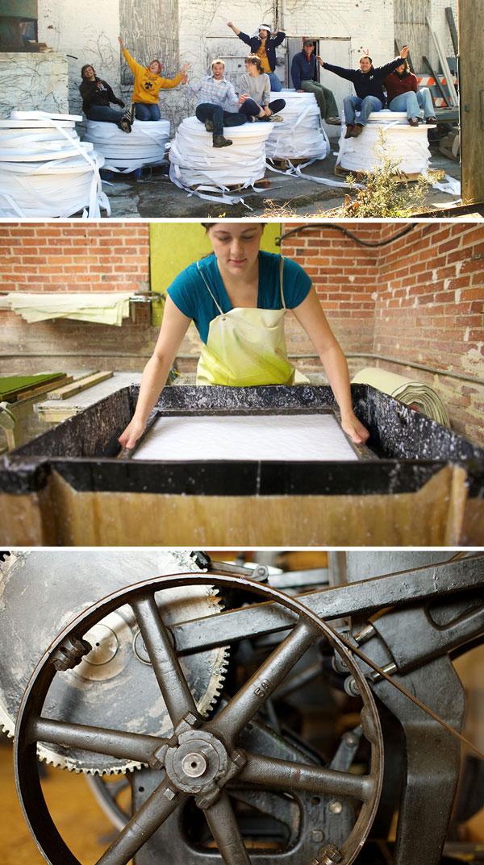 Porridge Papers - Handmade Paper Mill and Letterpress Print Shop