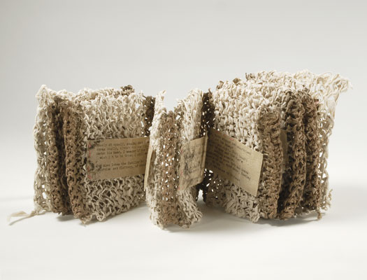 Aimee Lee - Hanji Papermaking Artist - Knitted Book