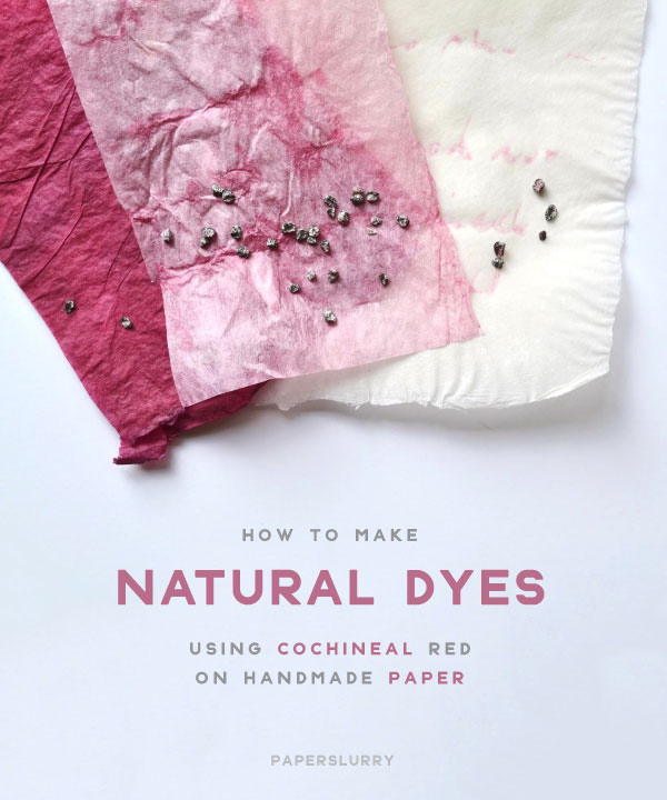Natural Dyes with Cochineal Extract Dyestuff