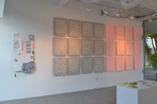 Angie Shen - papermaking art installation