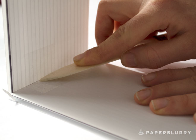 instructions for making a deckle for handmade paper