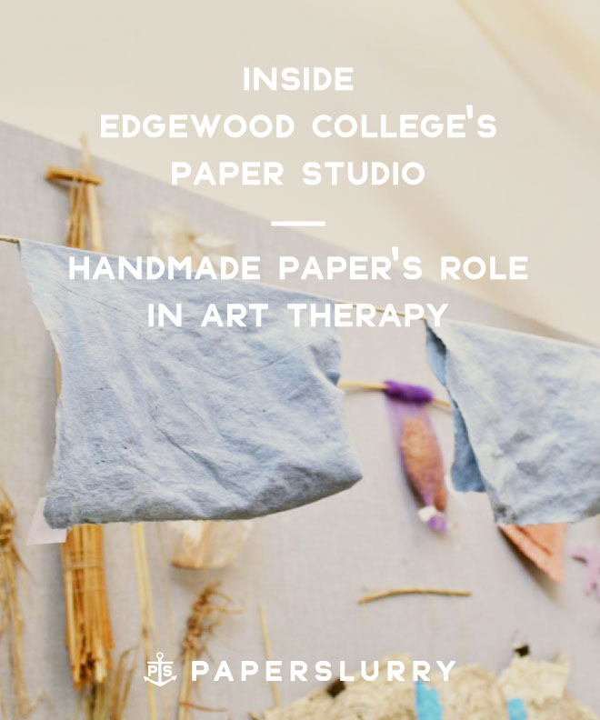 Edgewood College Papermaking Studio, Madison Wisconsin